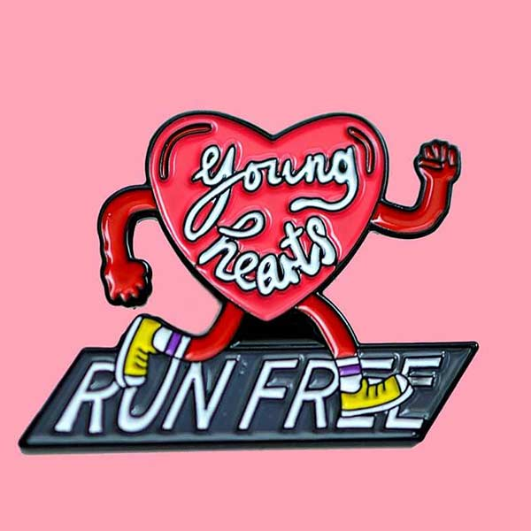 Young Hearts Pin